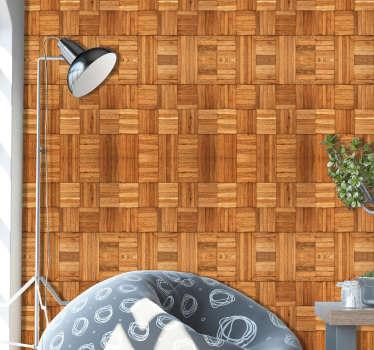 How about wooden walls in your home? Too expensive? Worry no more! With our amazing wooden pattern wallpaper you can have the best of both worlds.