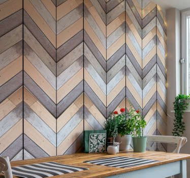 This is the wood texture wallpaper perfect for you! An amazing pattern of different colors that will bring a rustic touch to your decor.
