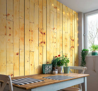 Wood Plank Pattern Wallpaper