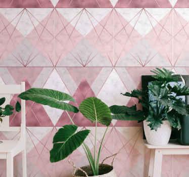 Sfondo in marmo rosa e grigio con carta da parati rosa e grigio per decorare la tua casa, conferendole un aspetto affascinante e originale