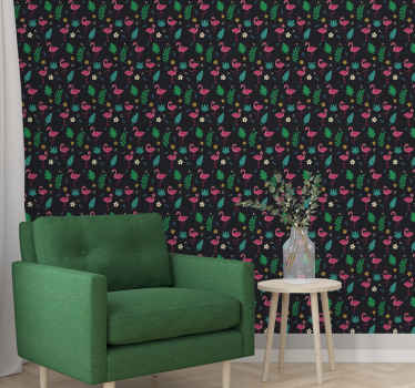 Change the face of your home with this amazing looking vintage vinyl wallpaper. Made with top quality material and durable.
