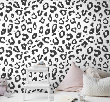 Imagine how your space would turn out with this lovely leopard pattern animal wallpaper design. It is original and durable.