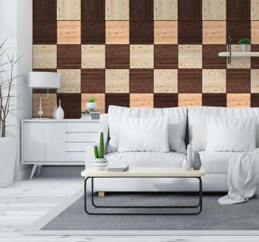 Bring some life back into your home with this incredible textured wood wallpaper. Free worldwide delivery available now!