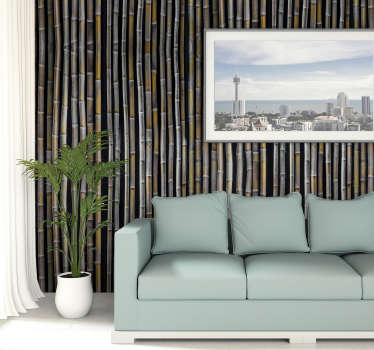 This modern living room wallpaper will look amazing in your house. Order it now and teleport yourself to the Bahamas to enjoy coctails and sun!