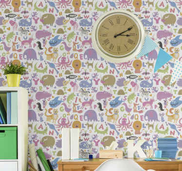 This animal wallpaper design will really make your day so much better when you receive it and notice all its great details! Buy it today!