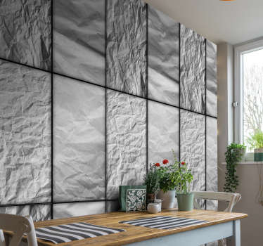 Patterned wallpaper that will bring a lovely finishing touch on your bedroom, living room or kitchen. Order it now and enjoy your new decoration.