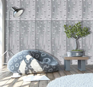 Looking for something that will bring life to your decoration, then this concrete style wallpaper is perfect for you. Instructions included.
