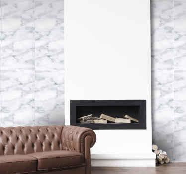 Marmor tapet som har et fantastisk mønster av store rektangulære fliser fylt med et nydelig marmor mønster. Høy kvalitet.