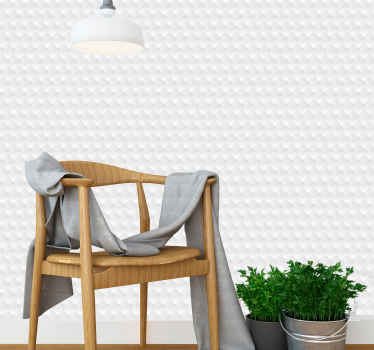Bring some light into your room with this amazing 3D white concrete elements luxury wallpaper! Don't wait any longer and order this design now!