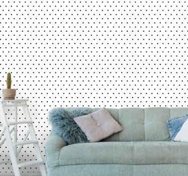 Nevjerojatne točkice na bijeloj pozadini mrljastih tapeta iz naše kolekcije pozadina geometrijskog oblika. Jednostavan je za nanošenje i postojan je.