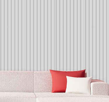 텐 스티커의 놀라운 디자인 '글래머 그레이 스트라이프'로 삶에 줄무늬를 가져 오세요. 오늘 새로운 멋진 추상 벽지를 주문하십시오!