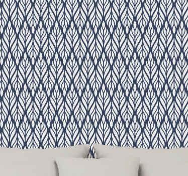 现在就把这个惊人的灰色蓝色装饰墙纸放到您的房间里!不要再等待了,立即订购您的新图案墙纸!