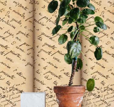 à procura de um papel de parede que se sincronize com sua personalidade como amante de poemas e escritor?. Você pode comprar nosso papel de parede de poema de leopardi infinito bege.