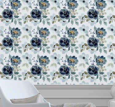 Este papel pared vintage floral dejaría su lugar en la pared con un aspecto tan impresionante para su admiración. Es fácil de aplicar y duradero.