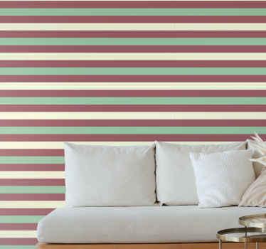 Papel pared de navidad horizontal verde y rojo de color agua. Patrón horizontal con colores relacionados con las vacaciones. ¡
