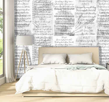 "Sublime artistic wallpaper with an excerpt from the famous literary work ""Romeo and Juliet"" by the great playwright William Shakespear!"
