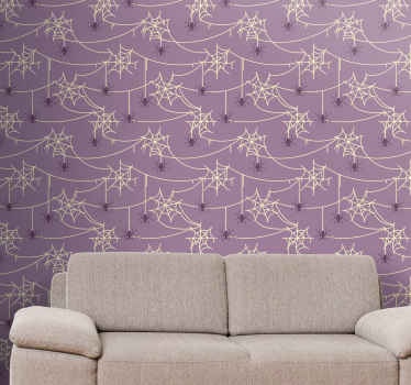 This decorative fancy halloween spiders wallpaper product has a very unique and cool design that is sure to give your house more energy! Buy it now!