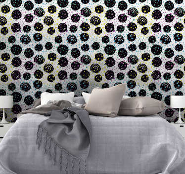 Give your room a new life without having to paint it! This spectacular abstract wallpaper is perfect for a innovative decoration.