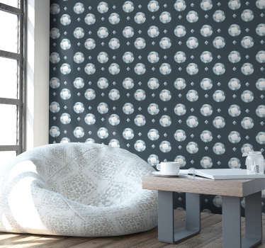 Erstaunliche abstrakte Tapete, um Ihre Wände auf originelle und personalisierte Weise zu dekorieren. Überraschen Sie alle mit Ihrer Kreativität und Ihrem guten Geschmack!