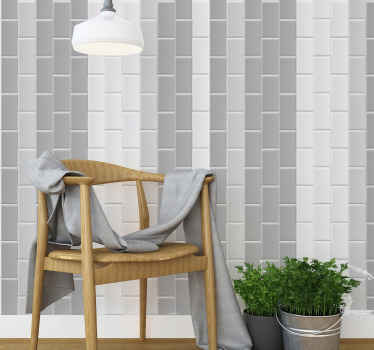 Stone look tile wallpaper - A very lovely wallpaper roll for your home and office space. This would greatly change the appearance of any space.