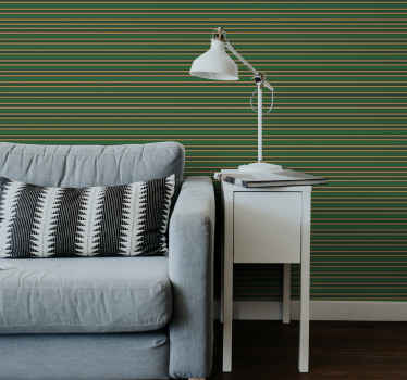 This original springboks colours striped horizontal wallpaper is a perfect choice for your living room or bedroom. Find the wallpaper that suits you.