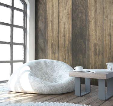 Придайте своей спальне новую жизнь с этими тонкими текстурированными виниловыми обоями, рисунок которых состоит из нескольких полос в оттенках коричневого и бежевого.