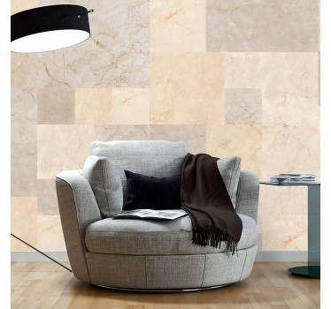 carta parati texture marmo color ocra
