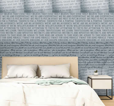 Marla Gibbs- something to think about wall paper to express your thoughts while you have a beautiful wall to admire. This design is finished in matte.