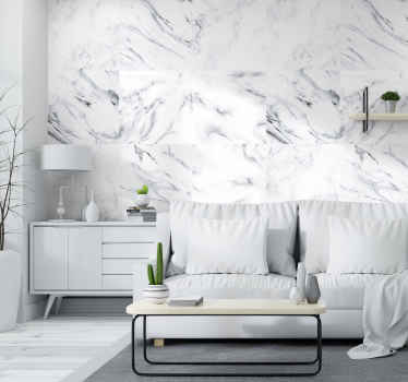 How about this stunning marble wallpaper that will look perfectly in any room of your house, a living room, as well as bedroom? Elegant solution.