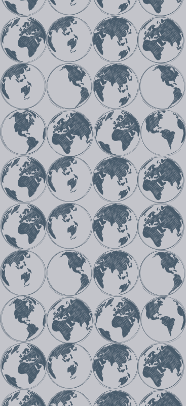 TenStickers. wallpaper world map sketch Retro Wallpaper. Beautifully designed world map sketch wallpaper for any room of your home! With anti-bubble and anti-ripple properties, perfect for any wall.