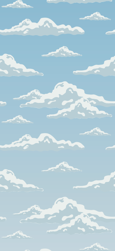 TenStickers. wallpaper clouds Cool abstract wallpaper. Float amongst the clouds with your very own cloudy sky wallpaper. You will be in true bliss! Choose the perfect size for you.