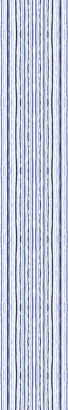 TenStickers. Tapet cu dungi verticale cu dungi verticale. Design de tapet cu dungi verticale care vă va transforma spațiul într-un mod unic, cu modele de linie albastră. Produs original și ușor de aplicat.