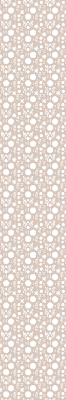 TenStickers. Beige Floral Wallpaper. Beige floral wallpaper which features a pattern of white flowers and petals on a lovely beige background. Sign up for 10% off.