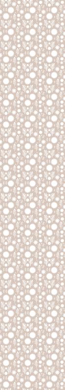 TenStickers. Tapeta kwiaty Beżowe rośliny. Beżowa tapeta z motywem białych kwiatów i płatków na pięknym beżowym tle. Zarejestruj się, aby otrzymać 10% zniżki.