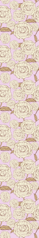 TenStickers. papel de parede flores Rosas rosa retrô. Dê às suas paredes um visual novo e único com nosso produtoretro rosa hoje! Encomende agora e entregue na sua casa dentro de alguns dias!