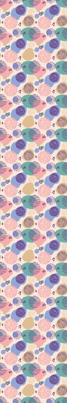 TenVinilo. Papel pared infantil topos multicolor pastel. Original papel pared infantil de topos multicolor pastel para que decores tu casa de forma bonita y exclusiva ¡Envío exprés a domicilio!