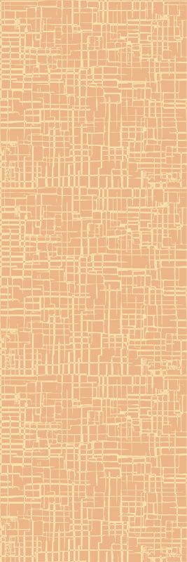TenStickers. Brown not straight lines Striped Wallpaper. Vinyl wallpaper with an illustration Brown not straight lines ideal for you to protect the walls of your office, your living room or any other space.